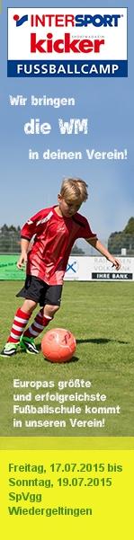INTERSPORT kicker Fußballcamp bei der SpVgg Wiedergeltingen